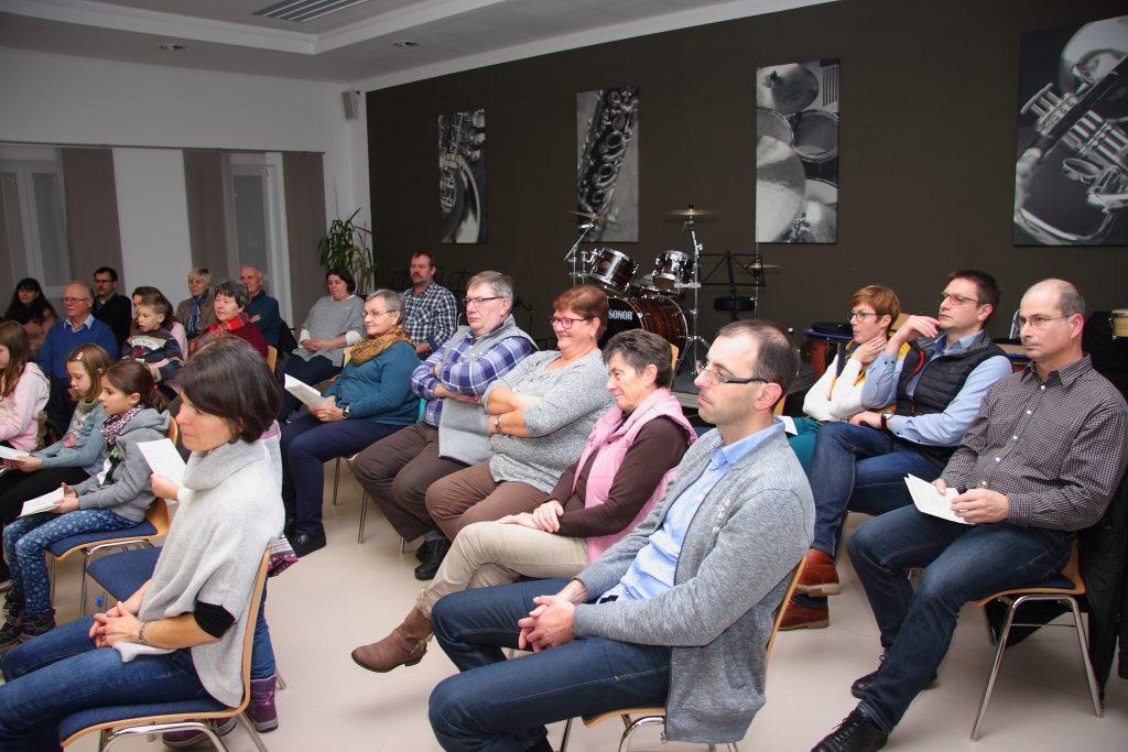 Das aufmerksame Publikum ...
